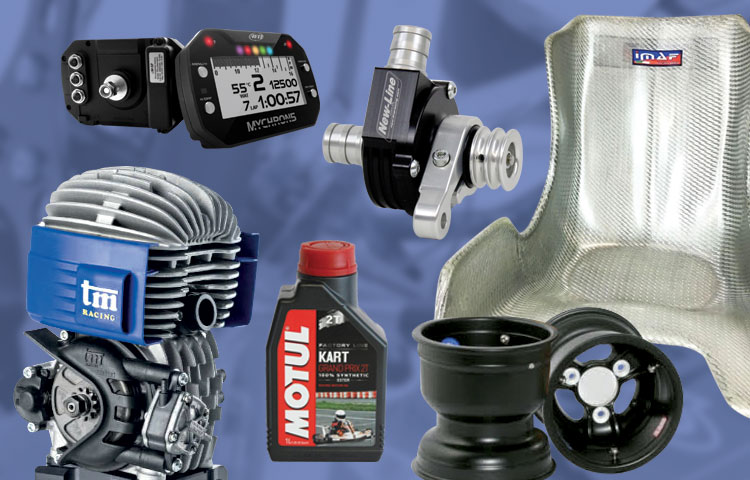 Karting service officina go kart assistenza riparazione - vendita telai motori ricambi e accessori go kart - racing kart accessori img